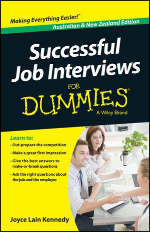 Successful Job Interviews For Dummies - Austral...