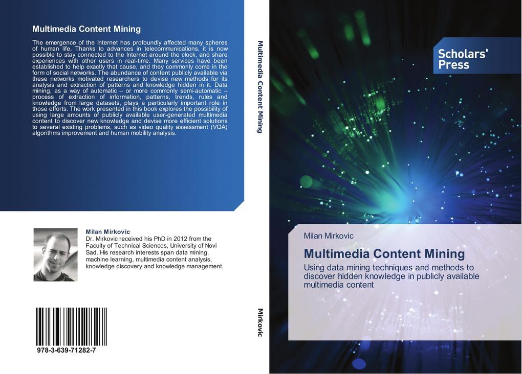 Multimedia Content Mining als Buch von Milan Mi...