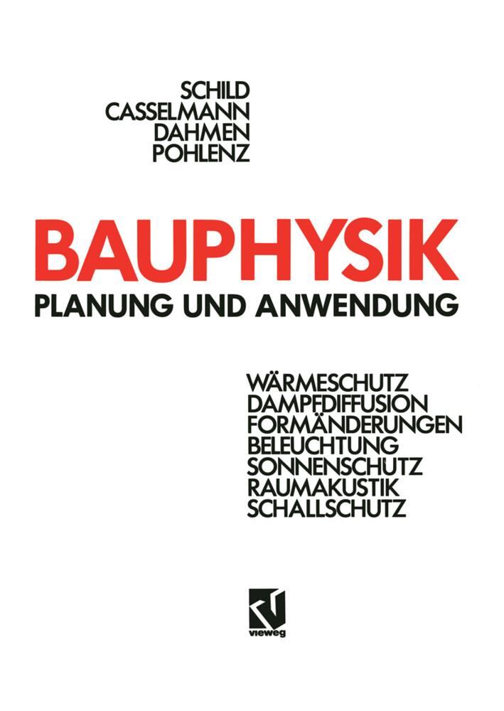 Bauphysik als Buch von Hans-F. Casselmann, Günt...