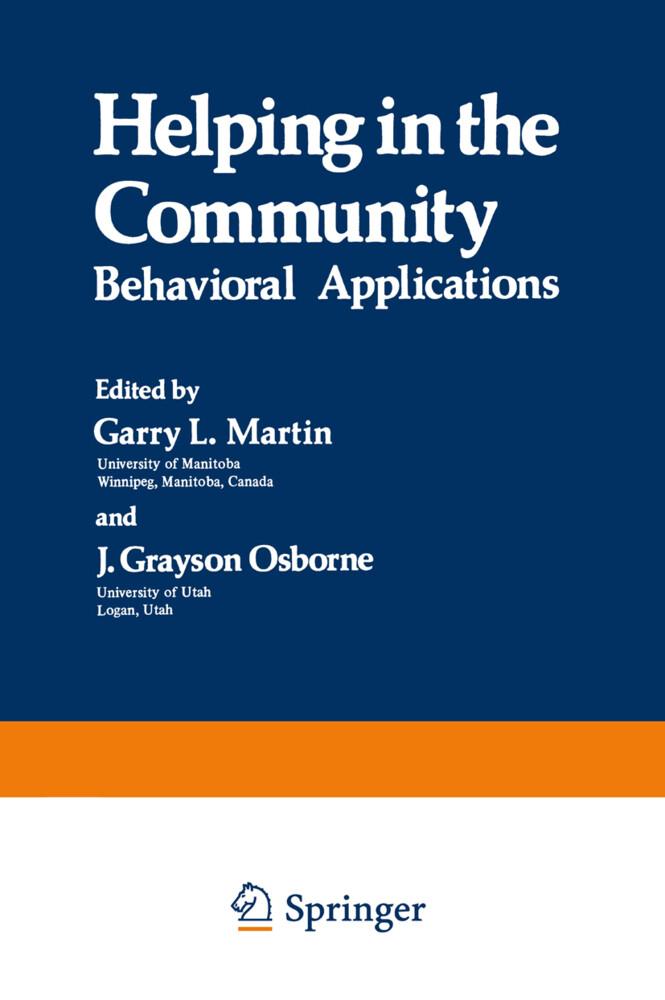 Helping in the Community als Buch von