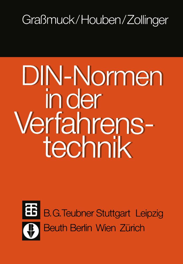 DIN-Normen in der Verfahrenstechnik als Buch vo...