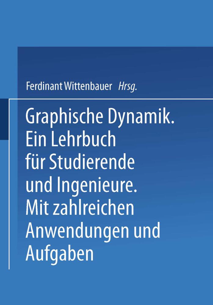 Graphische Dynamik als Buch von Ferdinant Witte...