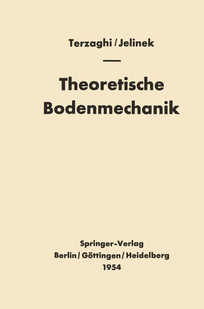 Theoretische Bodenmechanik (Buch), Karl Terzaghi