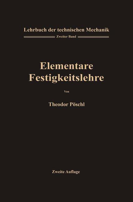 Lehrbuch der Technischen Mechanik für Ingenieur...
