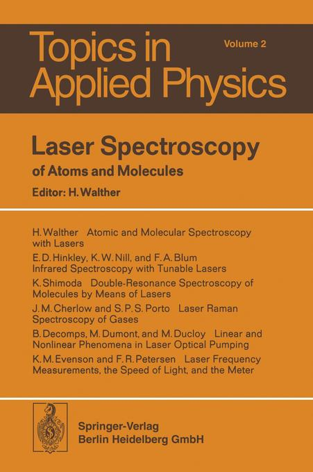 Laser Spectroscopy of Atoms and Molecules als B...