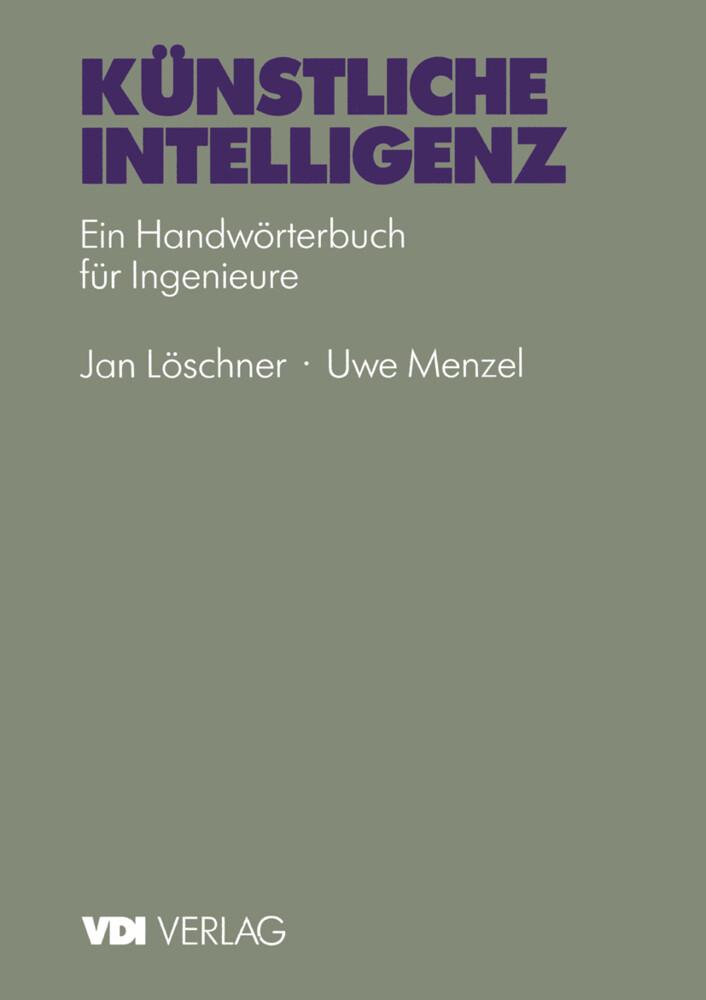 Künstliche Intelligenz als Buch von J. Löschner...