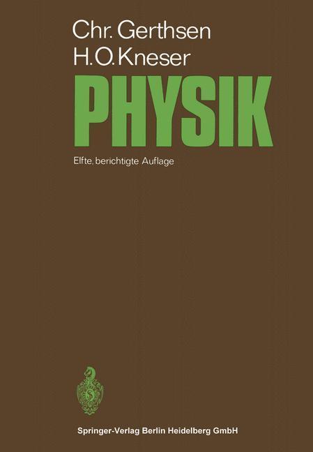 Physik als Buch von Siegmund Brandt, Hans Diete...