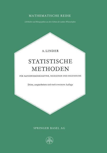 Statistische Methoden für Naturwissenschafter, ...