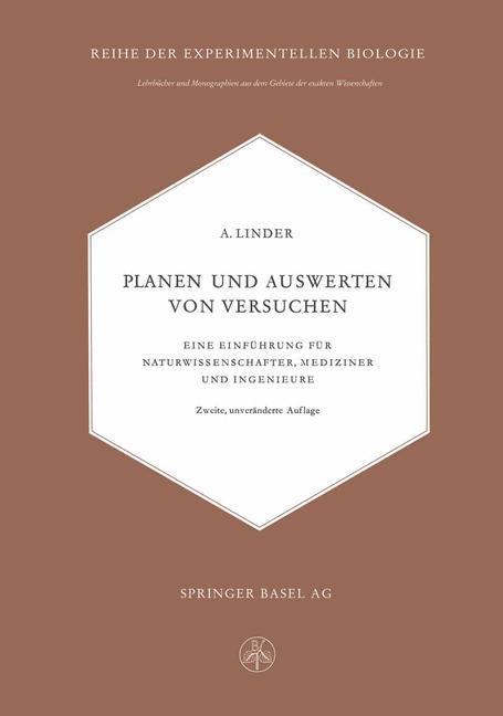 Planen und Auswerten von Versuchen als Buch von...