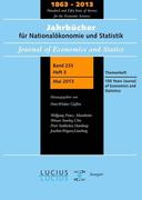 150 Years Journal of Economics and Statistics