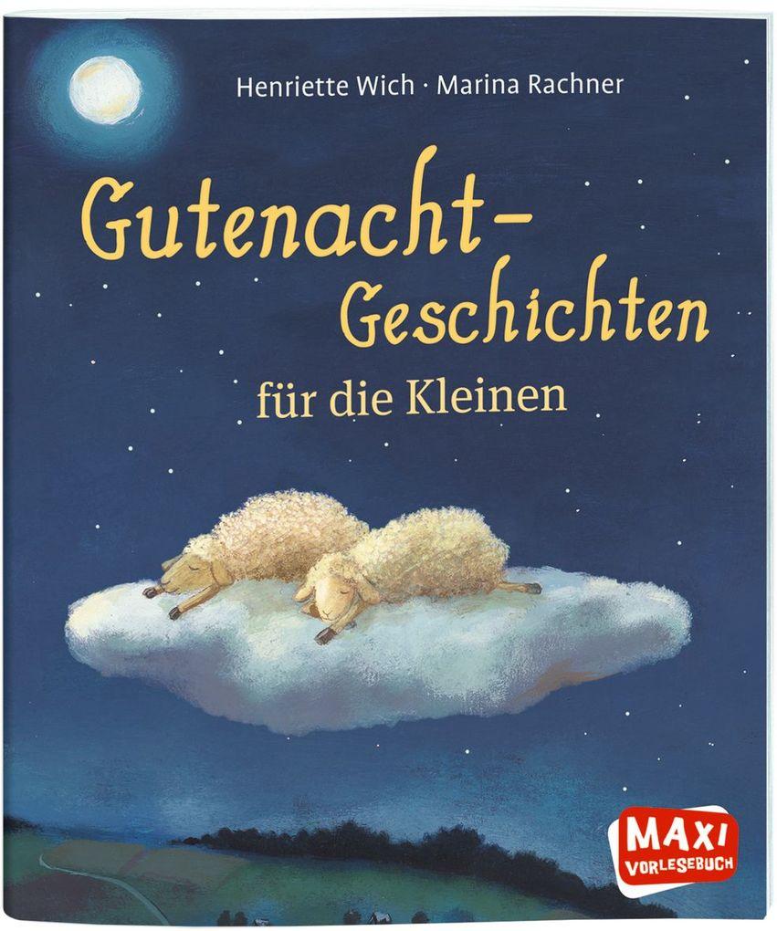 MAXI Gutenacht-Geschichten für die Kleinen als Buch
