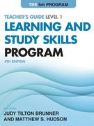 The Hm Learning and Study Skills Program: Teacher's Guide Level 1