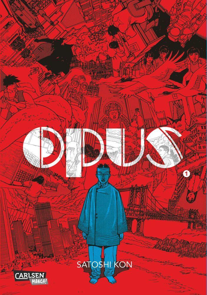 Opus 01 als Buch von Satoshi Kon
