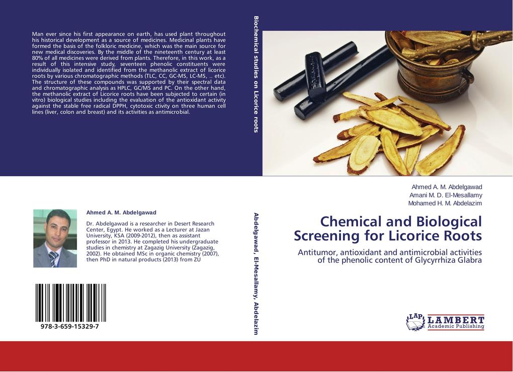 Chemical and Biological Screening for Licorice ...