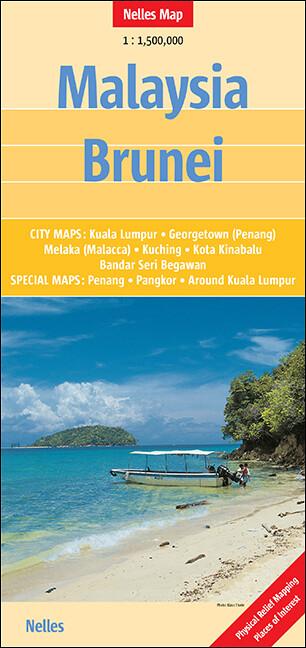 Nelles Maps Malaysia, Brunei als Buch von