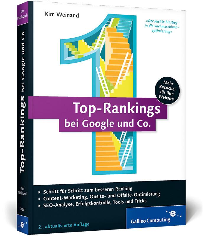 Top-Rankings bei Google und Co. als Buch von Ki...