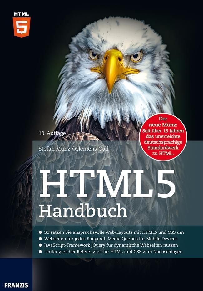 HTML5 Handbuch als Buch von Clemens Gull, Stefa...