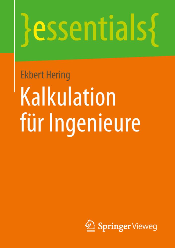 Kalkulation für Ingenieure als Buch von Ekbert ...
