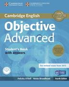 Objective Advanced. Student's Book Pack (Student's Book with answers with CD-ROM and Class Audio CDs (3))
