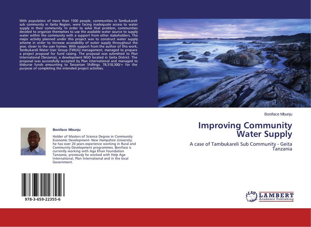 Improving Community Water Supply als Buch von B...