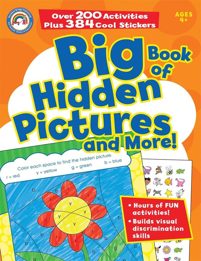 Big Book of Hidden Pictures and More!, Grades P...