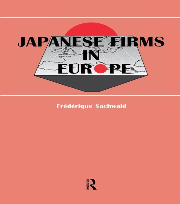 Japanese Firms in Europe als eBook Download von