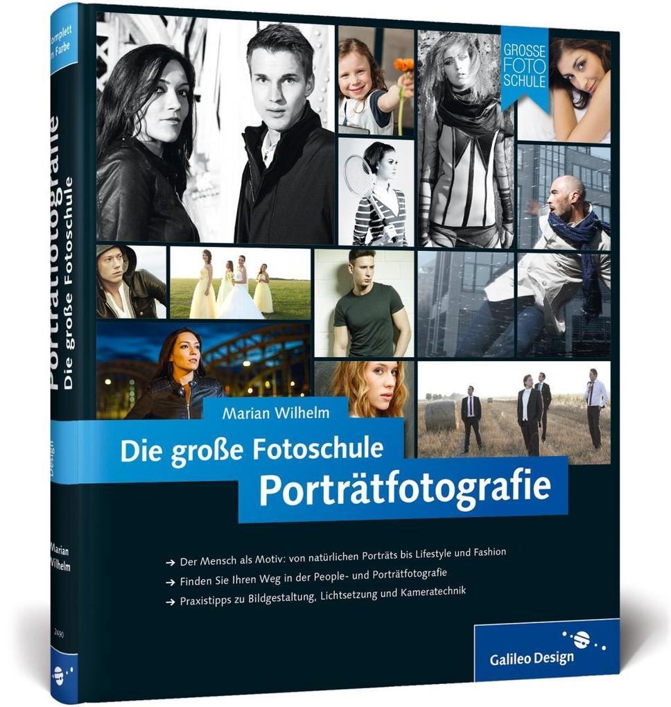 Porträtfotografie. Die große Fotoschule als Buch