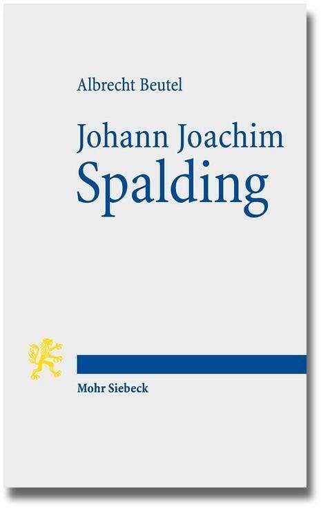 Johann Joachim Spalding als Buch