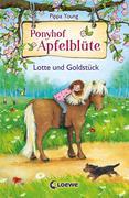 Ponyhof Apfelblüte 03. Lotte und Goldstück