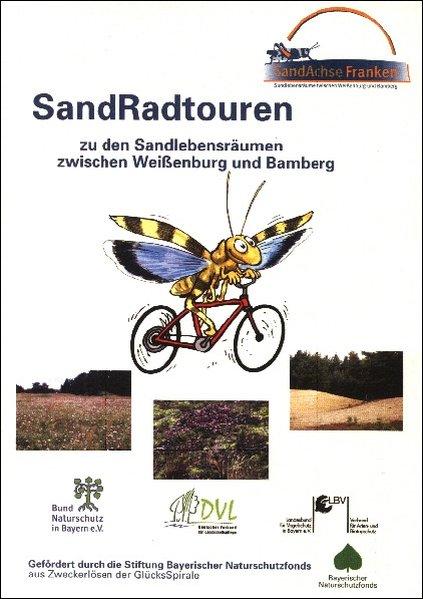 SandRadtouren zu den Sandlebensräumen zwischen Weißenburg und Bamberg als Buch
