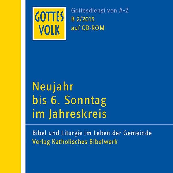 Gottes Volk LJ B2/2015 CD-ROM
