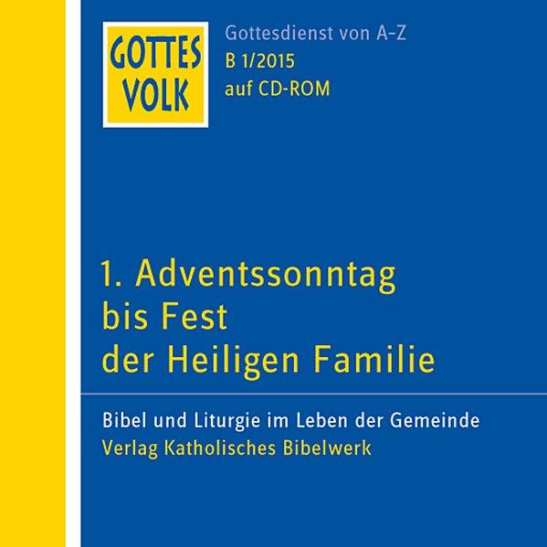 Gottes Volk LJ B1/2015 CD-ROM
