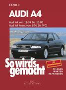 Audi A4 von 11/94 bis 10/00. Audi A4 Avant von 1/96 bis 9/01