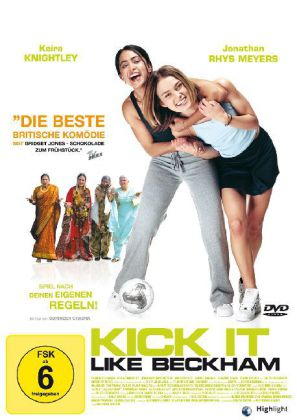 Kick it like Beckham als DVD