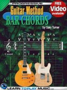 Guitar Lessons - Guitar Bar Chords for Beginner...