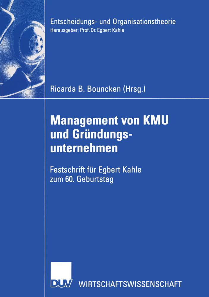 Management von KMU und Gründungsunternehmen als Buch