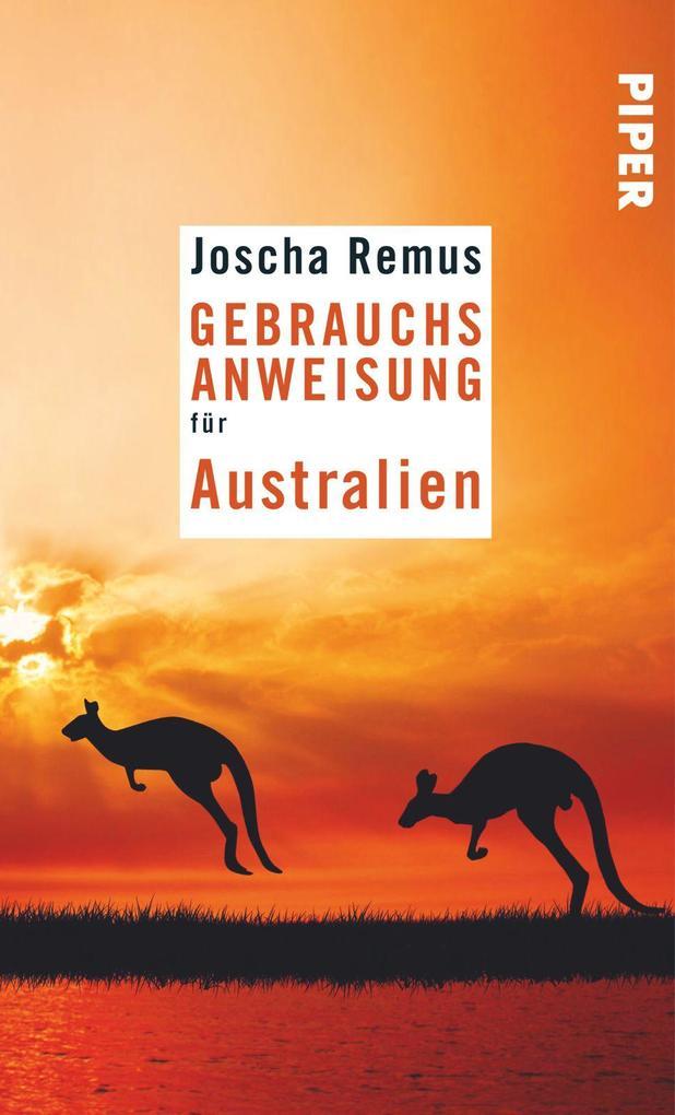 Gebrauchsanweisung für Australien als Taschenbu...