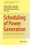 Scheduling of Power Generation