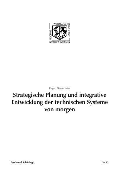 Strategische Planung und integrative Entwicklun...
