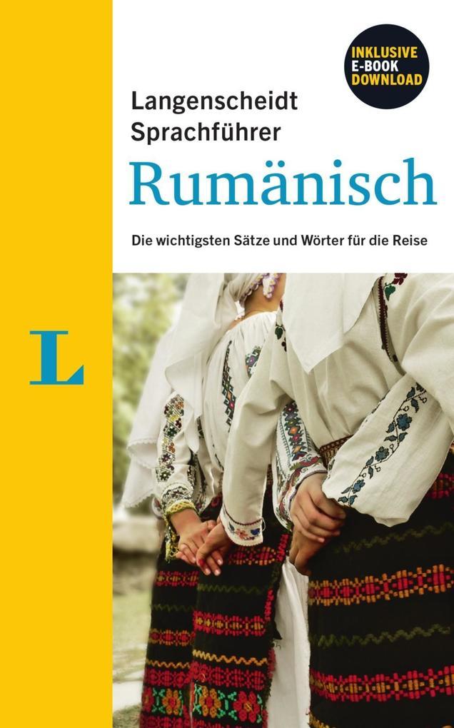 Langenscheidt Sprachführer Rumänisch - Buch ink...