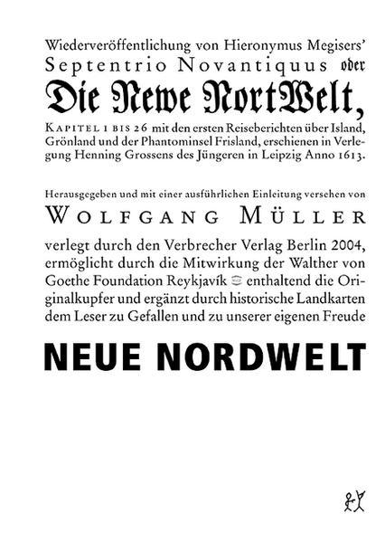 Neue Nordwelt als Buch