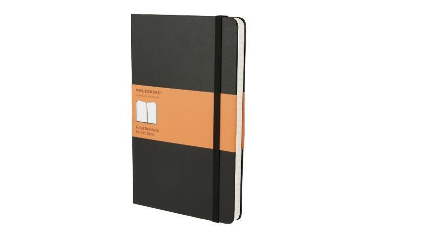 Moleskine. Ruled notebook als Spielwaren