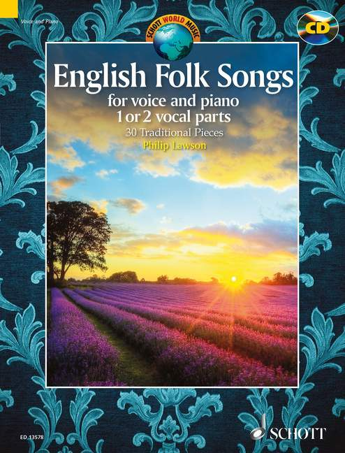 English Folk Songs for Voice and Piano als Buch