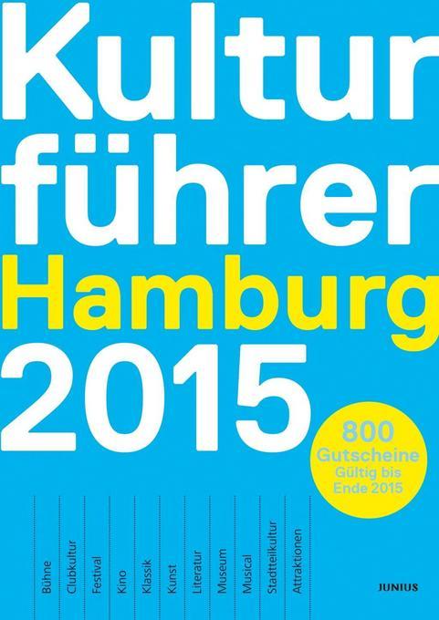 Kulturführer Hamburg 2015 als Buch von