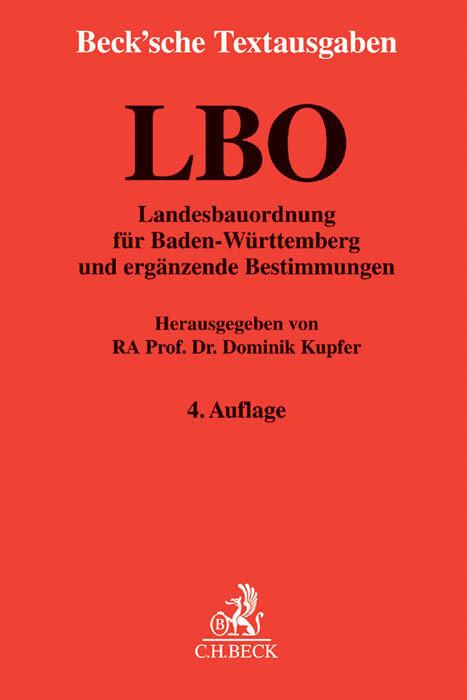 Landesbauordnung für Baden-Württemberg als Buch...