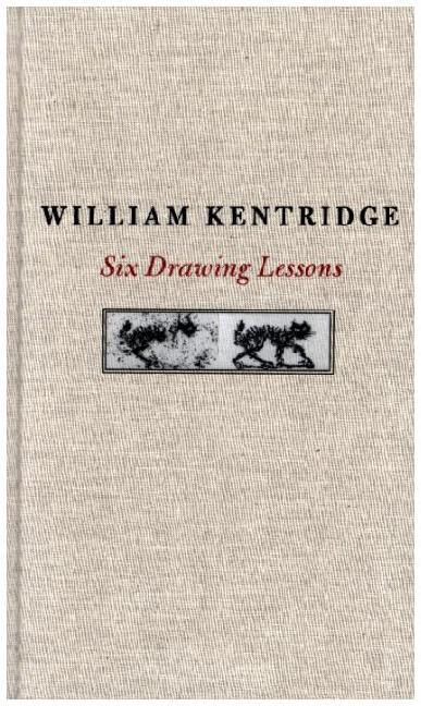 Six Drawing Lessons als Buch von William Kentridge