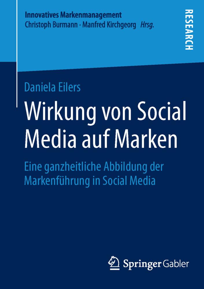 Wirkung von Social Media auf Marken als Buch vo...