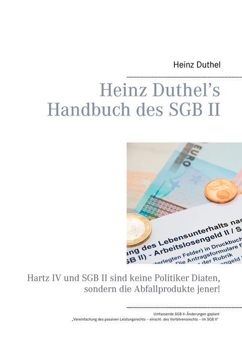 Heinz Duthel's Handbuch des SGB II als Buch