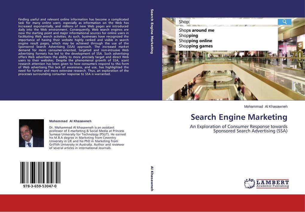 Search Engine Marketing als Buch von Mohammad A...