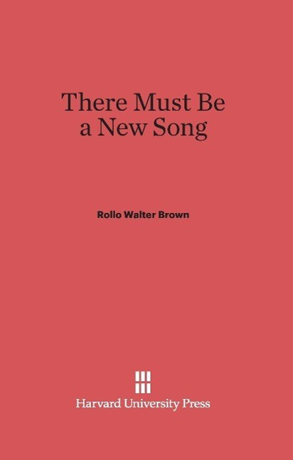 There Must Be a New Song als Buch (gebunden)